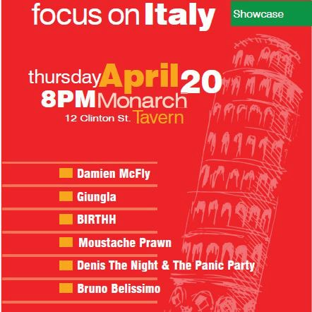 FOCUS ON ITALY ALLA CANADIAN MUSIC WEEK 2017 DI TORONTO